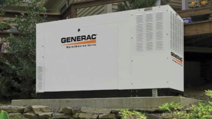 Generac generator installed in Guilford CT by CAG Electrical Co., Inc..