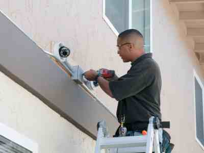 Security system repair by CAG Electrical Co., Inc.